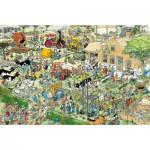 Puzzle  Jumbo-17077 Jan Van Haasteren: Der Bauernhof