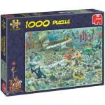 Puzzle  Jumbo-17079 Jan van Haasteren: Unterwasserwelt