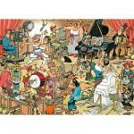 Puzzle  Jumbo-17160 Jan van Haasteren: Die Künstler