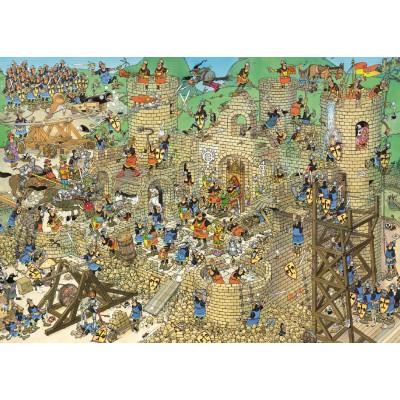 Puzzle Jumbo-17213 Jan van Haasteren: Mittelalter