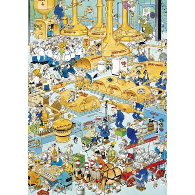 Puzzle Jumbo-17215 Van Haasteren Jan: Die Brauerei