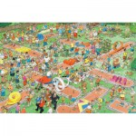 Puzzle  Jumbo-17216 Jan Van Haasteren: Crazy Golf