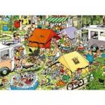 Puzzle  Jumbo-17219 Jan Van Haasteren: Der Campingplatz