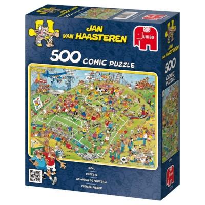Puzzle Jumbo-17276 Fußballfieber