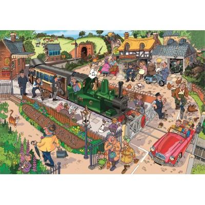 Puzzle Jumbo-17304 Pendler-Verkehr