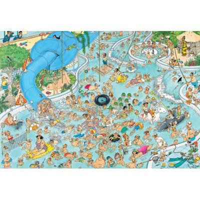 Puzzle Jumbo-17315 Tropischer Badetag