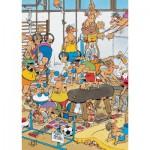 Puzzle  Jumbo-17455 Jan van Haasteren - Fitnessstudio