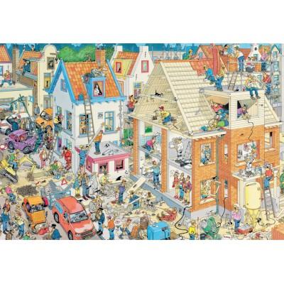 Puzzle Jumbo-17462 Van Haasteren Jan: Die Baustelle