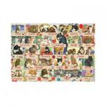 Puzzle  Jumbo-18324 Francien's Jubiläumskatzen