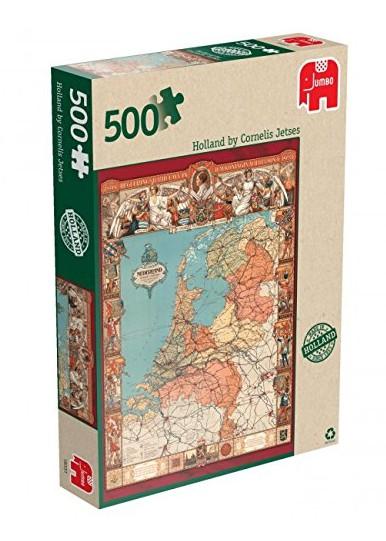 Puzzle Jumbo-18331 Holland durch die Augen von Cornelis Jetses