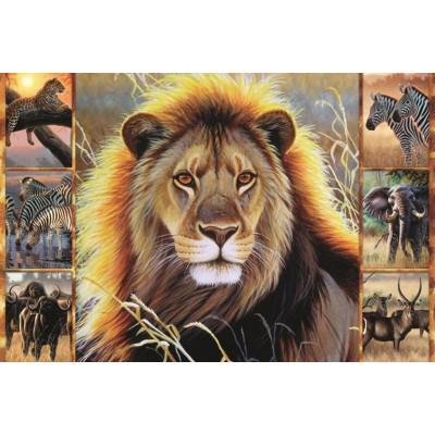 Puzzle Jumbo-18356 Afrikanische Schönheit