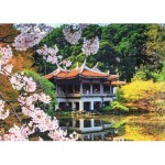 Puzzle  Jumbo-18361 Blüten in Japan
