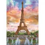 Puzzle  Jumbo-18533 Eiffelturm, Paris