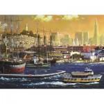Puzzle  Jumbo-18552 Hafen von San Francisco, USA
