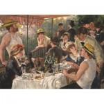 Puzzle  Jumbo-18566 Renoir: Mittagsessen auf dem Schif