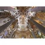 Puzzle  Jumbo-18567 Sagrada Familia, Barcelona