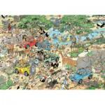 Puzzle  Jumbo-19001 Der Sturm & Die Safari
