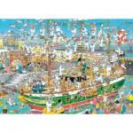 Puzzle  Jumbo-19014 Jan van Haasteren - Auf dem Schiff ist nichts im Griff