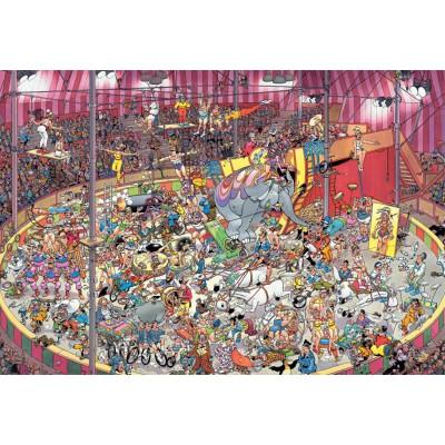 Puzzle Jumbo-19018 Jan van Haasteren - Im Zirkus