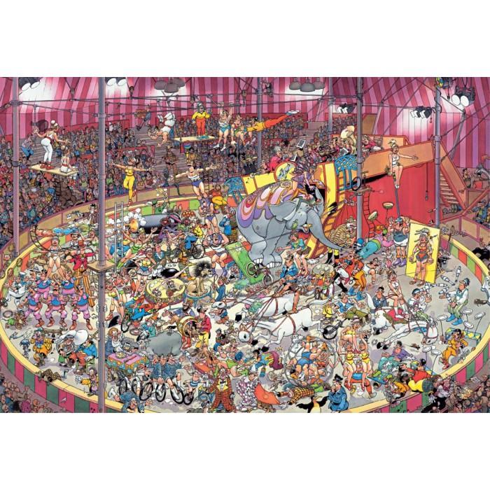 Jan van Haasteren - Im Zirkus