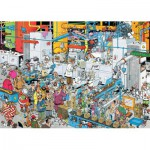 Puzzle  Jumbo-19025 Jan Van Haasteren - Süßigkeitenfabrik