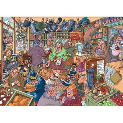 Puzzle Jumbo-19109 Wasgij Destiny 15 - Einkaufswahnsinn!
