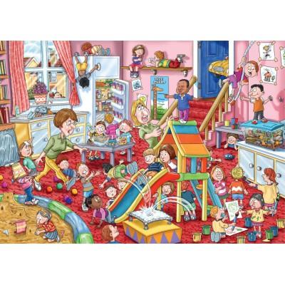 Puzzle Jumbo-19110 Wasgij Mystery 11 - Kinderbetreuung