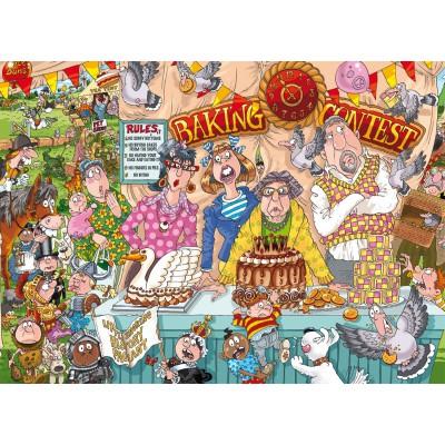 Puzzle Jumbo-19116 Wasgij Original 23 - Erweiterungsset - Die Tortenschlacht