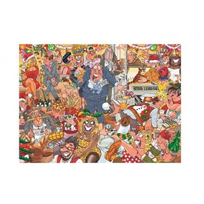 Puzzle Jumbo-19118 Wasgij Christmas 11 - Doppelte Panik