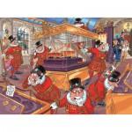 Puzzle  Jumbo-19127 Wasgij Mystery 12: Die üblichen Verdächtigen!