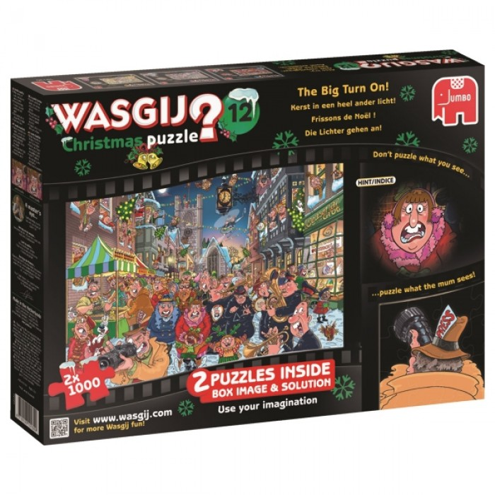 2 Puzzles - Wasgij - Christmas
