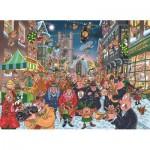 Jumbo-19131 2 Puzzles - Wasgij - Christmas