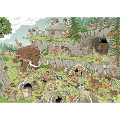 Puzzle Jumbo-19200 Rob Derks: Die Steinzeit