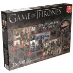 Jumbo-19316 3 Puzzles - Game of Thrones