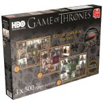 Jumbo-19318 3 Puzzles - Game of Thrones