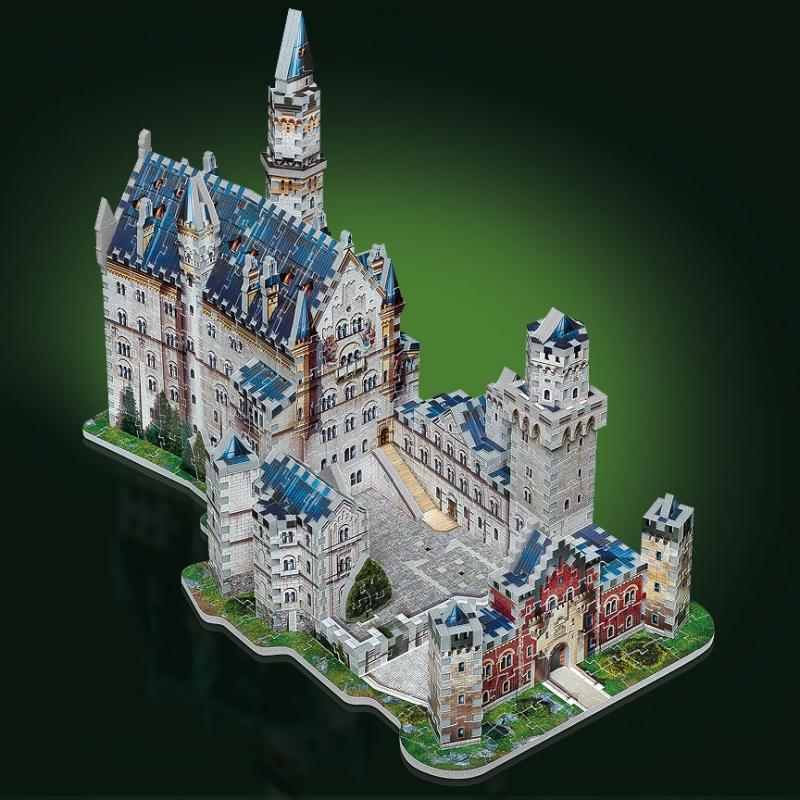 3d puzzle deutschland schloss neuschwanstein 890
