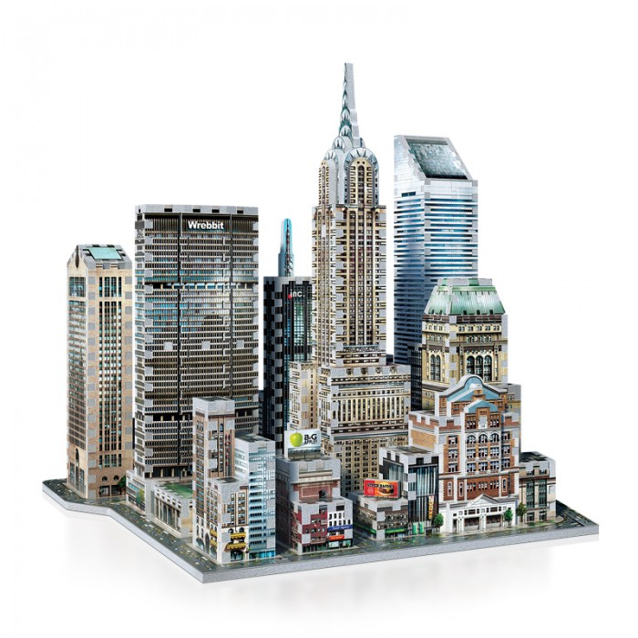 3D Puzzle - New York Collection: Midtown East