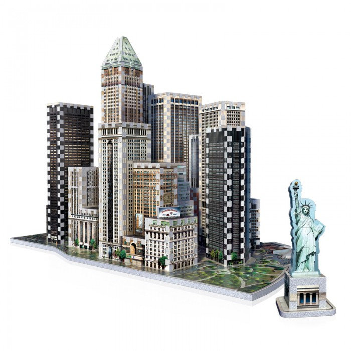 3D Puzzle - New York Collection: Financial
