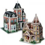 Wrebbit-Set-Lady 2 3D Puzzles - Set Lady Jane und Lady Victoria