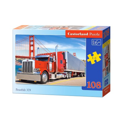 Puzzle Castorland-010028 Peterbilt 379