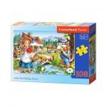 Puzzle  Castorland-010080 Rotkäppchen