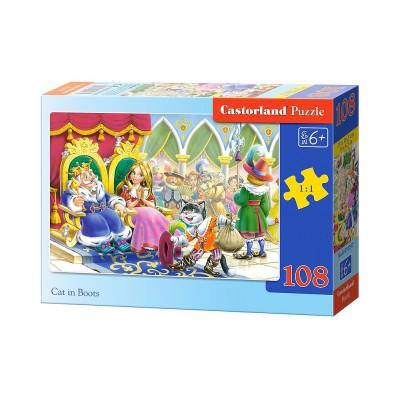 Puzzle Castorland-010097 Der gestiefelte Kater