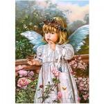 Puzzle  Castorland-018208 Schmetterlingsträume