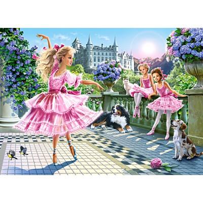 Puzzle Castorland-018222 Ballet