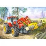 Puzzle  Castorland-02405-BM4 Waldarbeit