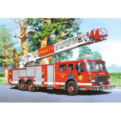 Puzzle Castorland-02405-BM5 Feuerwehrauto