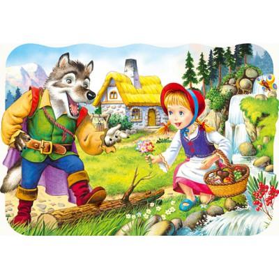 Puzzle Castorland-03228 Rotkäppchen