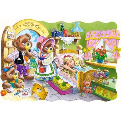 Puzzle Castorland-03280 Goldlöckchen und die drei Bären