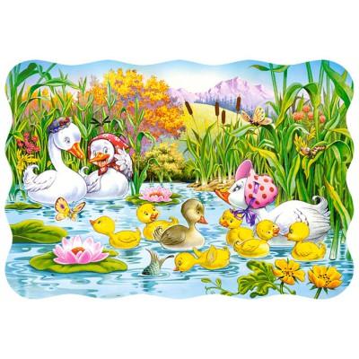 Puzzle Castorland-03341 Das hässliche Entlein