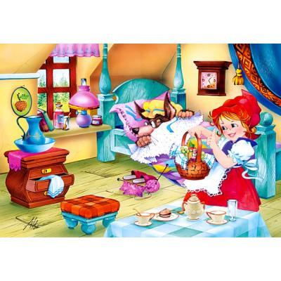 Puzzle Castorland-06502 Rotkäppchen
